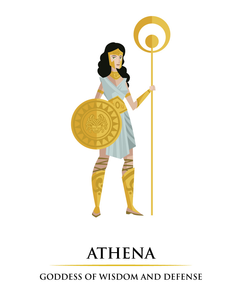 Greek Myths 12 Olympians And Zeus The King Of The Gods