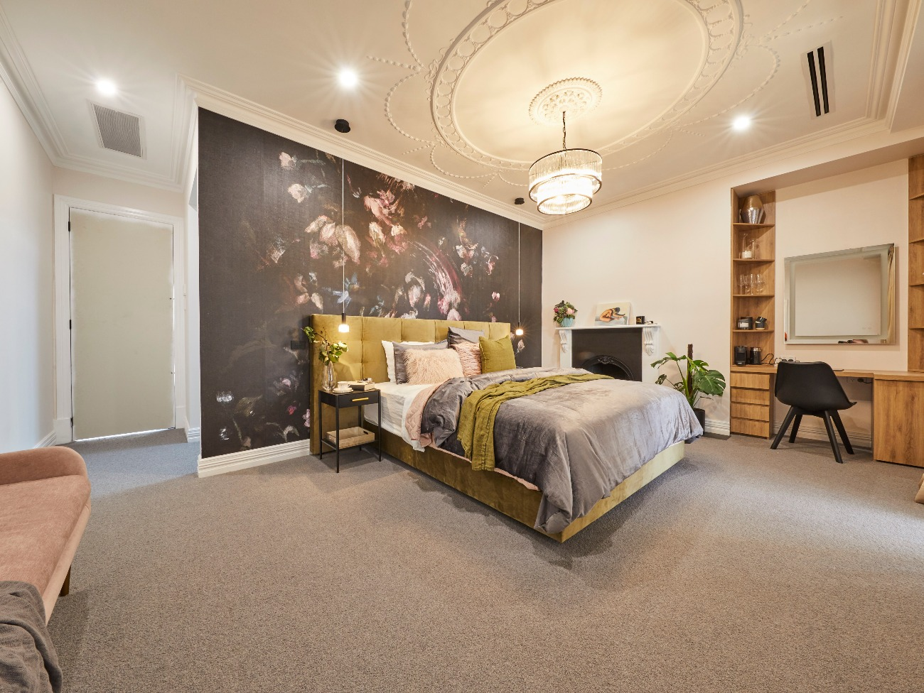 The Block 2019 Master Bedroom Reveal Controversial Decision Rock S The Block