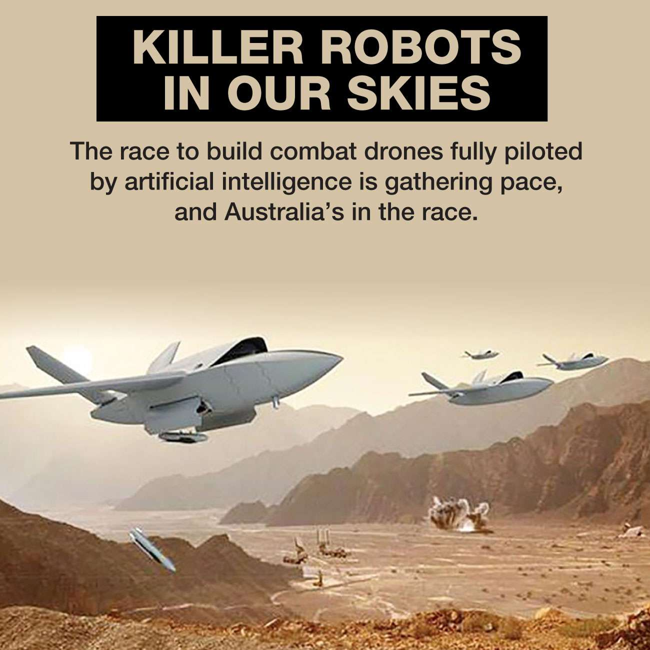 NED-660-Robot fighter drones - 0
