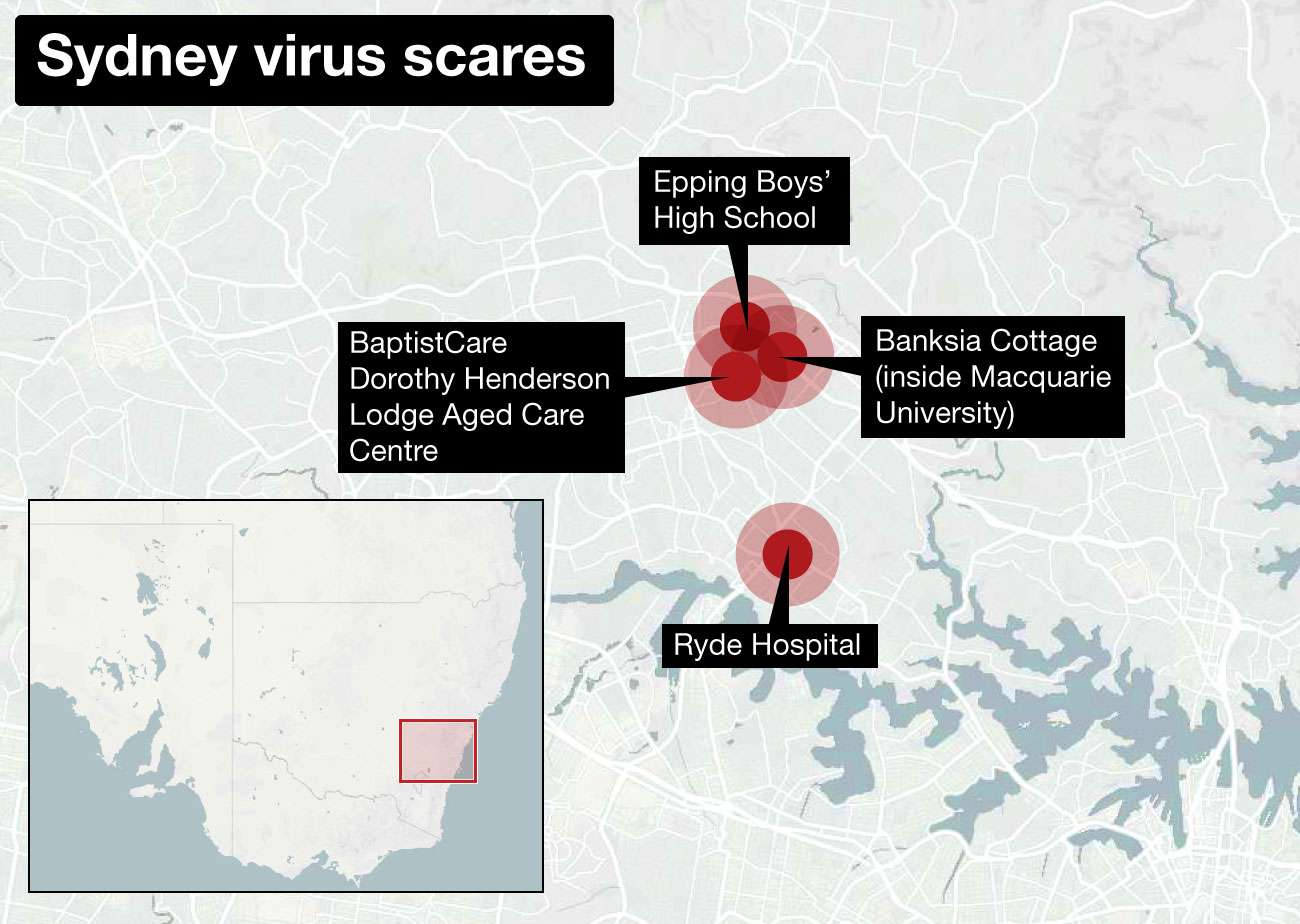 NED-1337-Sydney virus map - 0